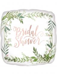 Globo de aluminio cuadrado Bridal Shower 43 cm