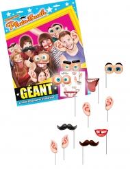 Kit photocall gigante 12 accesorios