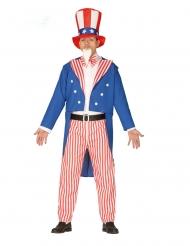 Disfraz patriota americano hombre