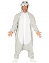 Disfraz traje hipopótamo adulto
