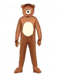 Dsifraz de oso mascota adulto