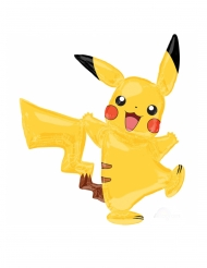 Globo aluminio Pikachu Pokemon™ 132 x 144 cm