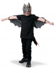 Kit alas y máscara Desdentado™ niño
