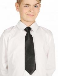 Corbata negra niño 30 cms