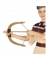 Arco de indio con 3 flechas niño