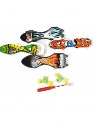 Juguete para piñata mini skate 9 cm