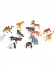Accesorio para piñata animal del zoo 6 cm