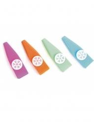 1 Juguete silbato kazoo 7.3 cm