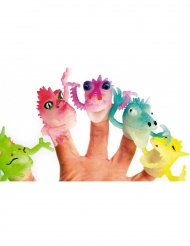 Juguete marioneta dragón para dedo 4 cm