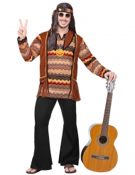 Disfraz hippie natural hombre