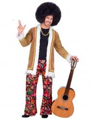 Disfraz hippie woodstock hombre
