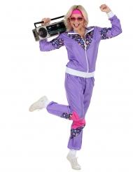 Disfraz de chándal años 80 mujer