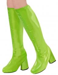 Cubrebotas retro años 60 verdes