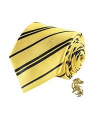 Corbata de lujo con pin Hufflepuff Harry Potter™