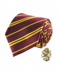 Réplica de corbata y pin de lujo Gryffindor - Harry Potter™