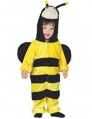 Disfraz mono abeja con capucha bebé