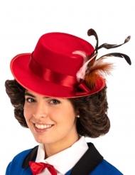Sombrero rojo niñera inglesa adulto