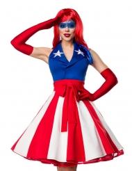 Disfraz mis América sexy mujer