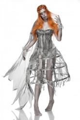 Disfraz novia zombie mujer