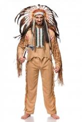 Disfraz indio lujo hombre