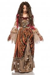 Disfraz dama de los mares mujer