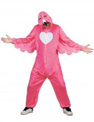 Disfraz flamenco rosa hombre