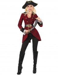 Disfraz pirata elegante mujer