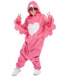 Disfraz flamingo rosa niña
