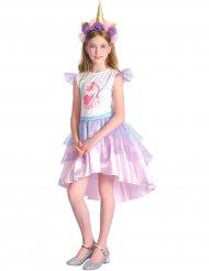 Disfraz unicornio rosa niña