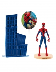 Kit decoración de tarta Spiderman™ 8.5 cm