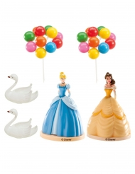Kit decoración para tartas Princesas Disney™ 8.5 cm