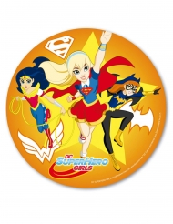 Disco ácimo Super Hero Girls™ naranja 20 cm