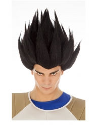 Peluca Vegeta Saiyan negro Dragon Ball™ adulto