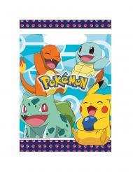 8 Bolsas de regalo plástico Pokemon™