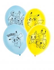 5 Globos de látex Pokémon™ 30 cm