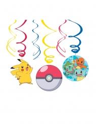 6 Decoraciones en espiral Pokémon