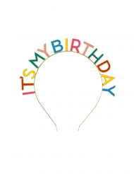 Diadema de cumpleaños adulto