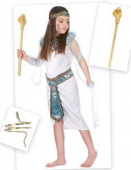 Pack disfraz de egipcia niña con brazalete y cetro