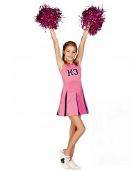Disfraz animadora K3™ niña