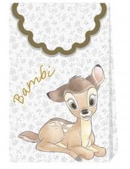 6 Bolsas regalo de cartón prem¡um Bambi™ 21 x 13 cm