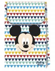 6 Bolsas regalo de cartón premium Mickey™ 21 x 13 cm