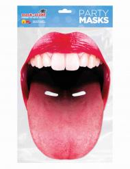 Careta boca gigante con lengua adulto