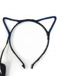 Diadema orejas de gato neón adulto