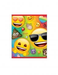 8 Bolsas regalo de plástico Emoji Rainbow™
