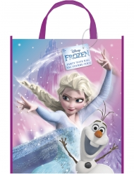 Bolsa regalo plástico Elsa Frozen y Olaf™ 33 x 27 cm