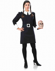 Disfraz Merlina Familia Addams™ adulto