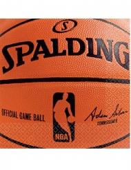 36 Servilletas de papel NBA Spalding™ 25 x 25 cm