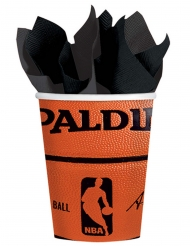 18 Vasos de cartón NBA Spalding™ 266 ml