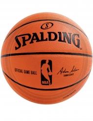 18 Platos pequeños de cartón NBA Spalding™ 18 cm