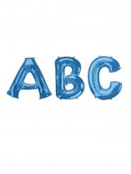 Globo aluminio letra azul 81 cm